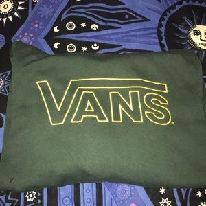 Vans | Dark green and gold hoodie